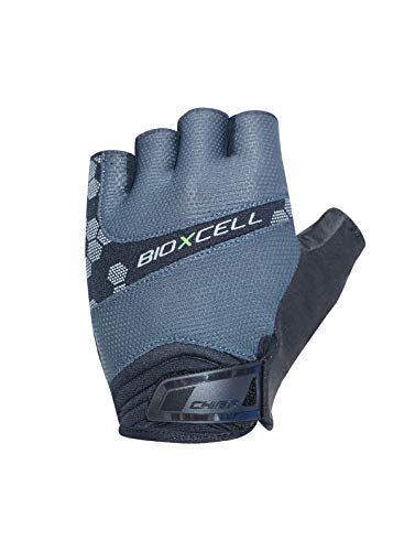 Chiba BioXCell Pro Fahrrad Handschuhe kurz grau 2020: Größe: L (9)