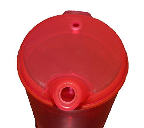 Vaso de plástico taza de alimentación con boquilla adulto Feeder Hospital taza discapacidad SIDA con amplia boquilla.