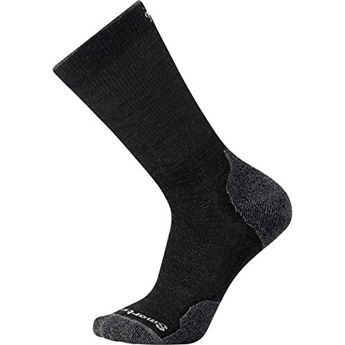 Smartwool Herren PhD Outdoor Light Crew Socks, Charcoal, L