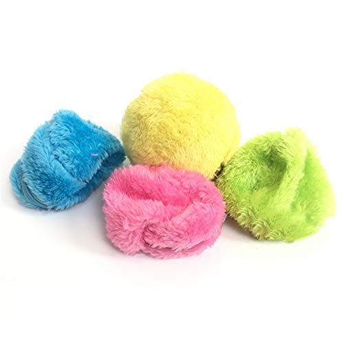 Ashley GAO Artículos de limpieza para el hogar Bola de activación Mascota felpa juguete piso limpio gato perro cachorro juguetes aspiradora automática