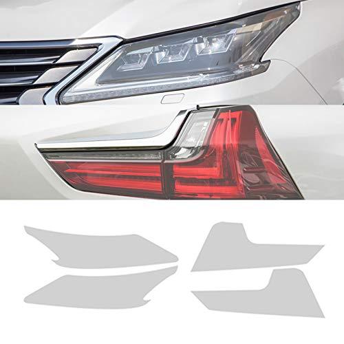 Piaobaige Auto Scheinwerferfolie Rücklichtfolie Transparenter TPU-Aufkleber für Lexus LX570 2016 2017 2018 2018 2019 2020