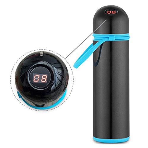 JL Mini-Kühlschrank Insulin Gekühlte Tasse (30 Stunden Zwischen 2 Und 8 ° C Lagern) Mit Intelligenter Temperaturanzeige Gekühlte Arzneimittel,Schwarz