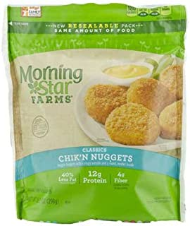 Morningstar Farms Poultry Chicken Nuggets, 10.5 Ounce -- 6 per case.