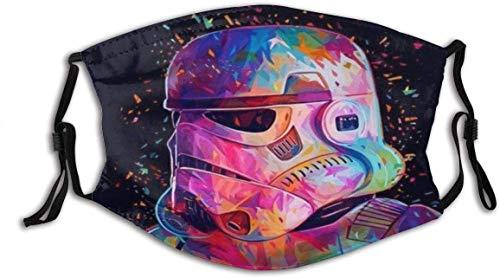 Protector facial Star-Wars (4) Unisex lavable y reutilizable de algodón cálido protección facial para decoración de la cara al aire libre