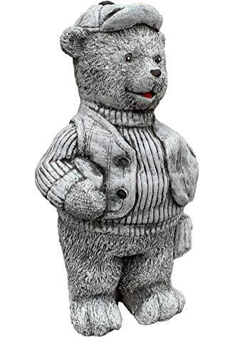 Pierre figurine ourson-Paul, fait à la main, résiste au gel, fabriqué en Allemagne