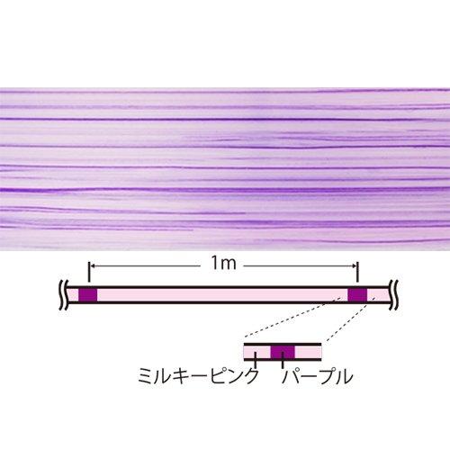 DUEL(デュエル)PEライン0.3号アーマードFアジ・メバル150M0.3号MPミルキーピンクアジ・メバルH4140-MP