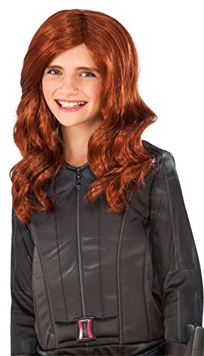 Rubie's Costume Captain America: Civil War Kid's Black Widow Wig