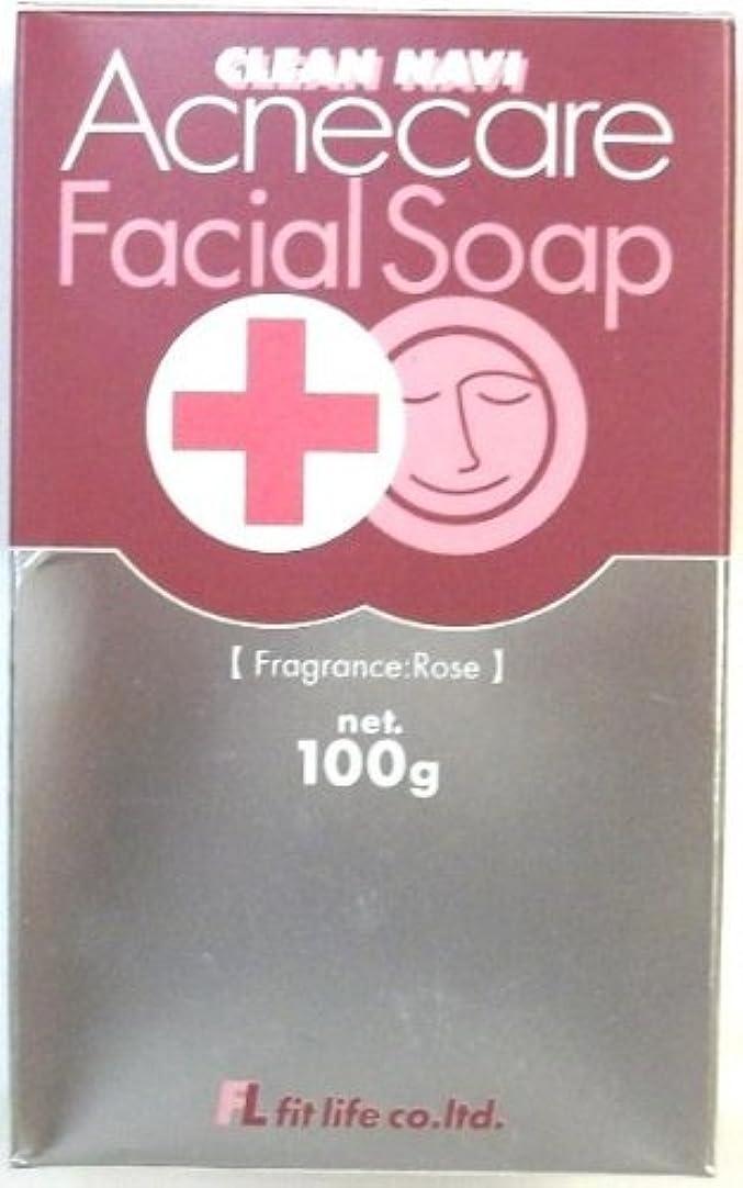 おとなしいに同意するレールクリーンナビ アクネケア洗顔石鹸 100g
