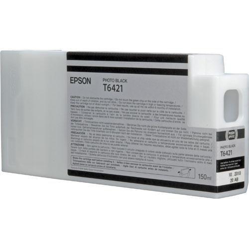Epson T6421 Ultrachrome HDR Ink Cartridge for Stylus Pro 7900/9900, 150 ml (Photo Black)