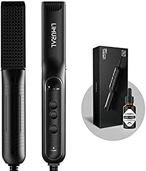 Limural Multifunctional 3 in 1 Hair or Beard Styling Tool Comb for Men
