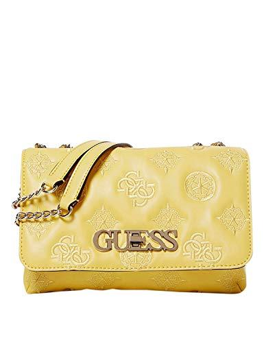 HWSG7589210 Yellow Guess GUESS HANDBAG MAIN Borsa Donna