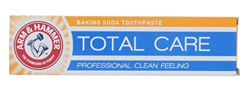 Arm & Hammer Total Care Baking Soda Toothpaste 125 grammes (pack of 6)