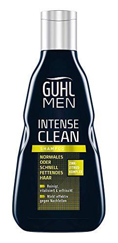 Guhl Men Intense Clean Shampoo - Reinigt, Vitalisiert Und Erfrischt - Speziell Für Männerhaar, 250 Ml