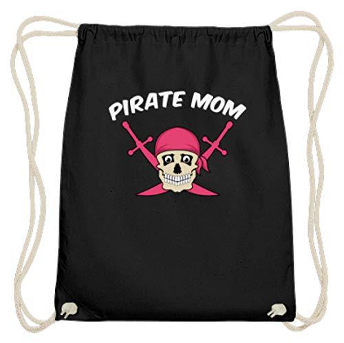 Pirate Mom – Bolsa de algodón para el gimnasio, diseño de piratas,...