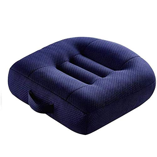 wan Qin Seat Cushion Orthopedic, Chair Pillow, for Back Pain Relief & Sciatica & Tailbone Pain Back Support - Ideal Gift for Home Office Chair & Car Driver Seat Pillow