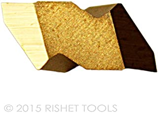 Box of 10 RISHET TOOLS 13584 NTP-2L C5 Multi Layer TIN Coated Notch Style Threading Carbide Inserts