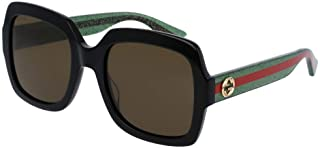 Gucci GG0036S Rectangle Sunglasses For Women+FREE Complimentary Eyewear Care Kit