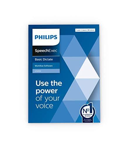 Philips SpeechExec Basic Diktiersoftware LFH4722/00, 2-Jahres-ABO