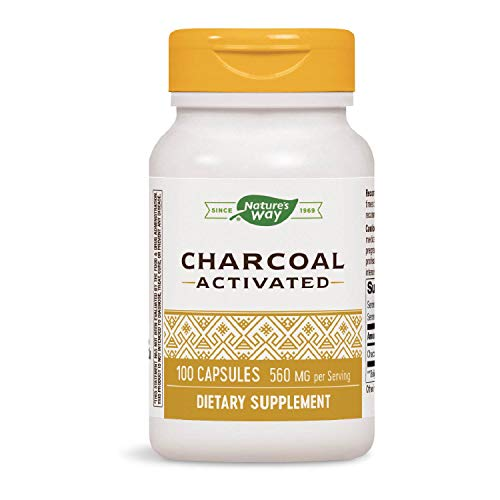 Nature's Way, Activated Charcoal (Aktivkohle), 280mg, 100 Kapseln