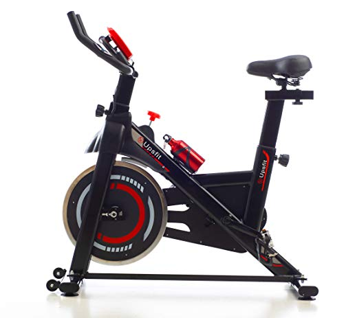 Cyclette spinning indoor, cyclette professionale fitness con cardiofrequenzimetro, pedali...