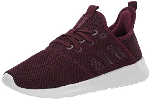 adidas Women's Cloudfoam Pure Running Shoe, Maroon/Maroon/Cloud White, 9.5 Medium US