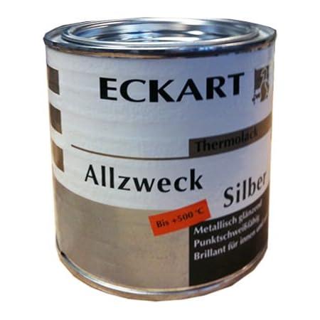 Eckart Metalleffektlack Silber Thermolack Ofenrohrlack 125ml Baumarkt