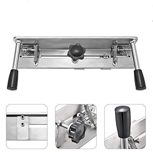 Kacsoo Universal Belt Grinder Piezas Plantilla de afilador de cuchillos, larga vida útil Clip de afilado Amoladora de correa Plantilla de cuchillo equipada para lijadora de banda/Máquina de banda