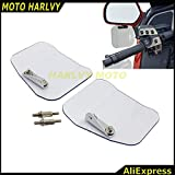 Left Right Air Wing Deflector Windshield Mirror Mount 4 Fit For Honda Gl1800 01-16 F6B 2013-2016