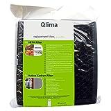 Zibro/qlima A45actief kools tof Filtre HEPA voor de A45Lucht Nettoyant 4stuks