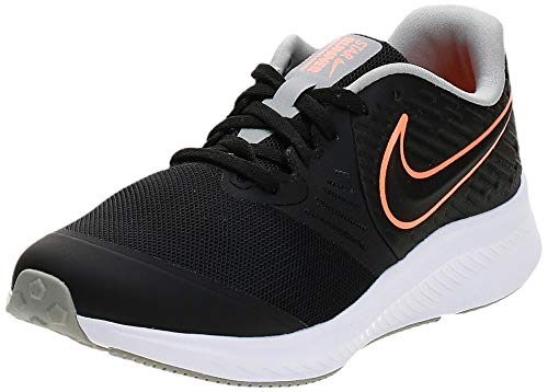 Nike AQ3542-008-7Y buty do biegania, Negro Total Orange Blanco Lt Smoke Grey, 40 EU