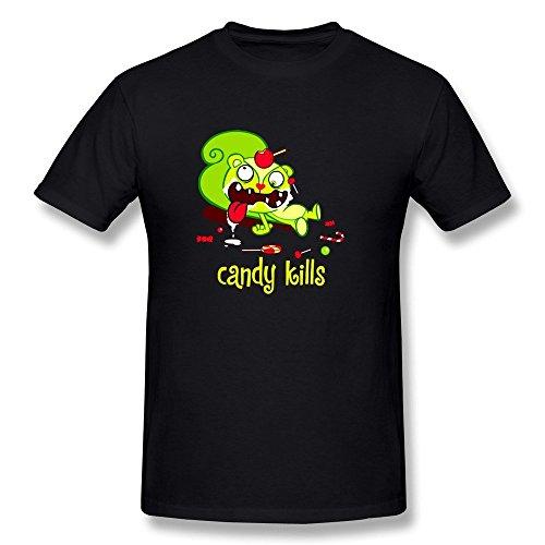 Phyllis Odelia Uomo's Nutty Happy Tree Friends Candy Kills T-Shirt XX-Large