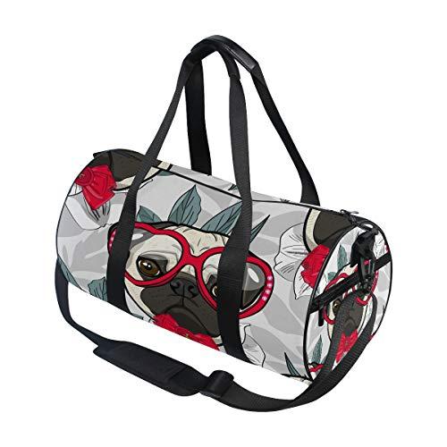 Hunihuni - Bolsa de Deporte con diseño de Flores para Perro, para...