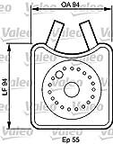 VALEO 817943 Radiatore olio, Olio motore