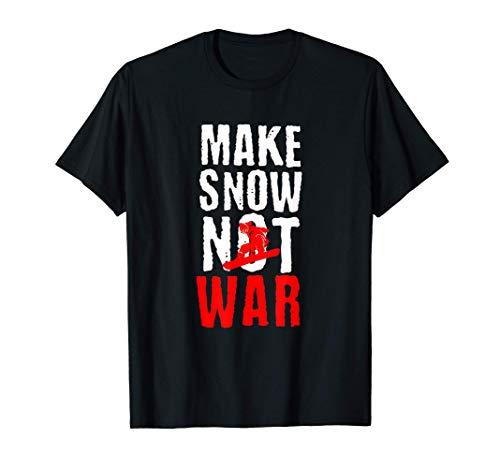 Snowboard Snowboarder Schnee Snowboardfahrer Berge Geschenk T-Shirt