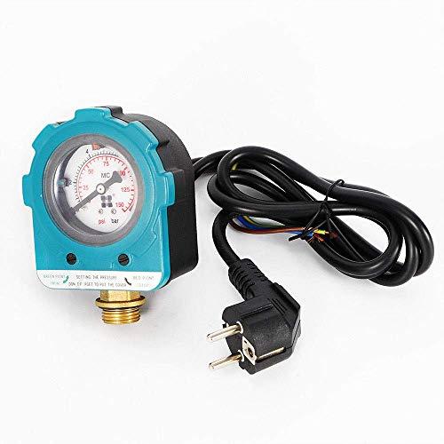 DiLiBee Pumpenschalter Druckregler 220V 10 bar Pumpensteuerung Druckwächter Pumpensteuerung,selbstansaugende Pumpe, Pumpensteuerung Druckschalter Strahlpumpe, Tiefbrunnenpumpe