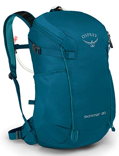 Osprey Skimmer 20 Women's Hiking Hydration Backpack, Sapphire Blue