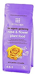 EcoScraps for Organic Gardening Rose & Flower Plant Food