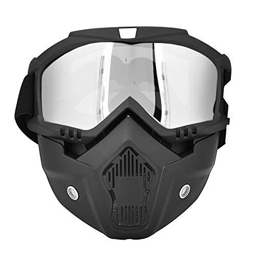Alomejor Gafas esquí máscara Facial Protectora Invierno