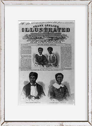 Foto: Eliza y Lizzie, los niños de DRed Scott, Harriet, 1857. Tamaño: 8x 10(aproximadamente)