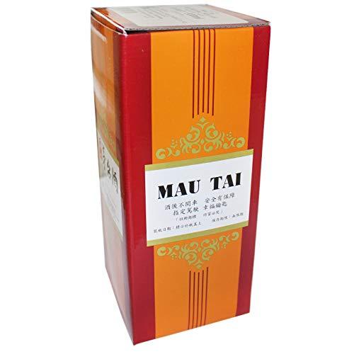 6er Pack (6x500ml) Mau Tai Spirituose 54% vol. Taiwan (Papa Vo ®)