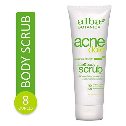 ALBA BOTANICA - Natural ACNEdote Face & Body Scrub - 8 oz. (227 g)