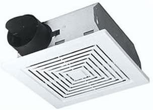 Broan - Ventilador de techo y pared, color blanco, 60 CFM 5.5 Sones, White Plastic Grille