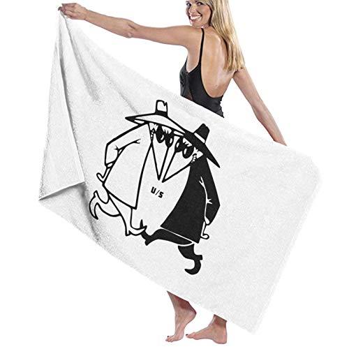 N+A Spy Vs Spy Bath Towel Quick Dry Towel