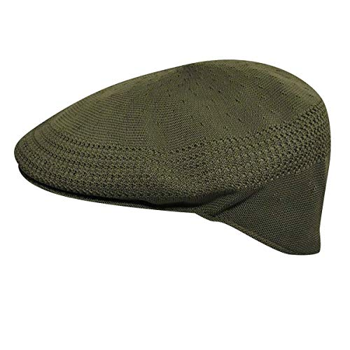 Kangol Headwear Tropic Ventair 504 Casquette Souple, Vert (Army Green), Large (Taille Fabricant:L) Homme