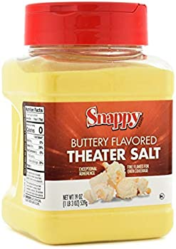 Snappy Buttery Flavored Theater Popcorn Salt, 19 Ounce