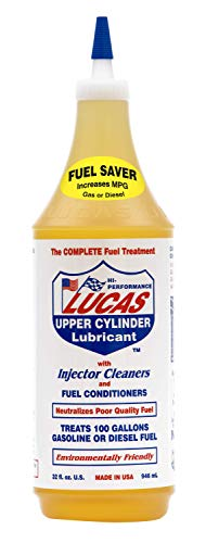Lucas 10003 Upper Cylinder Lubrication & Injector Cleaner 32 oz.