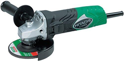 Hitachi G12SR3 - Amoladora angular (25,4 cm, 1,4 kg) Negro, Verde