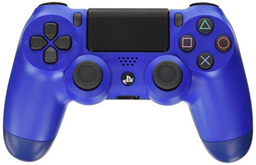 Sony Dualshock 4 Manette Playstation 4 Noir, Bleu - Accessoires de Jeux Vidéo (Gamepad Playstation 4, Analogique/Numérique, D-Pad, Maison, Sélectionner, Démarrer sans Fil USB 2.0)