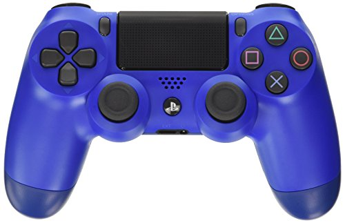 Sony - Dualshock 4 V2 Mando Inalámbrico, Color Azul (Wave Blue) (PS4)
