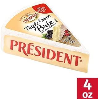 President Triple Cream Brie Cheese, 4 oz